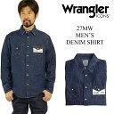 ラングラーアイコンズ Wrangler ICONS 27MW メンズ デニムシャツ ニュー (ウエスタンシャツ)