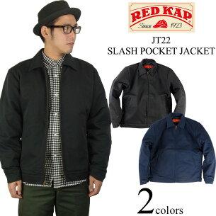 キャップ スラッシュ ポケット ジャケット ブラック