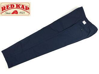 紅色的帽子 REDKAP #PT20 工業工作褲海軍 (硬腦膜汲水工業褲斜紋棉布褲)