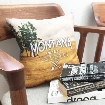 【JAMオリジナルアイテムプレゼント中】JAM デザイナーズクッション punster cushion _ Montana ふわふわお洒落 クッション インテリア雑貨 デザイナーズ デザイン ダジャレ ユニーク
