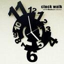 【鉄時計】clock walk(クロックウォーク)|デザイナーズ掛け時計掛け時計 壁掛け時計 北欧 おしゃれ アンティーク レトロ 連続秒針 音がしない セイコー【送料無料】【楽ギフ_包装】【楽ギフ_メッセ】