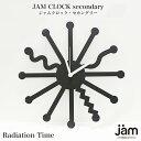 【鉄時計】Radiation Time(レディエーションタイム)ウォールクロック壁掛時計【JAM CLOCK secondary】Classic Street ...