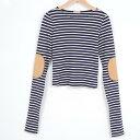 ロングTシャツ レディースM JOHN PATRICK /web5663 【古着屋JAM】【中古】【あす楽対応】 140610