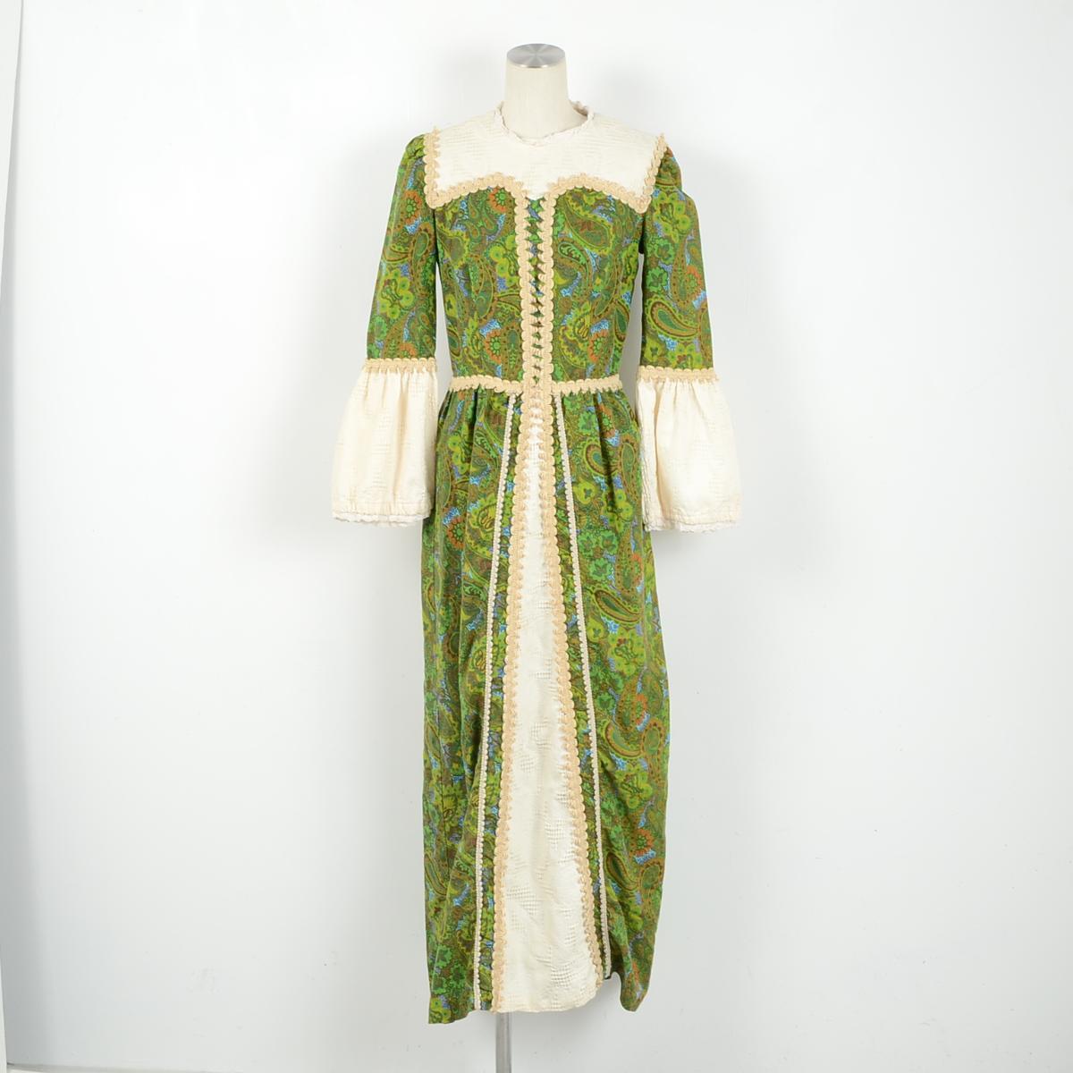 m co maxi dress 70s
