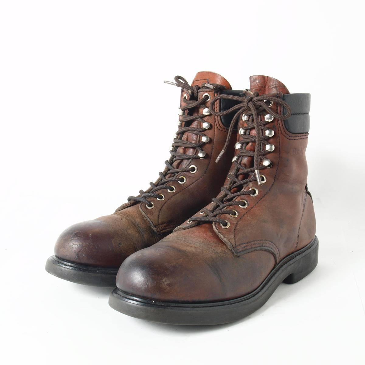 Red Wing Work Boots Men - Cr Boot