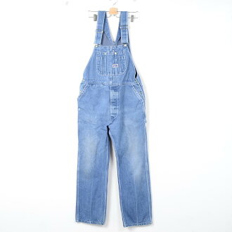 Big Smith overalls denim 36 × 34 mens w37 vintage BIG SMITH /wek7667 151106