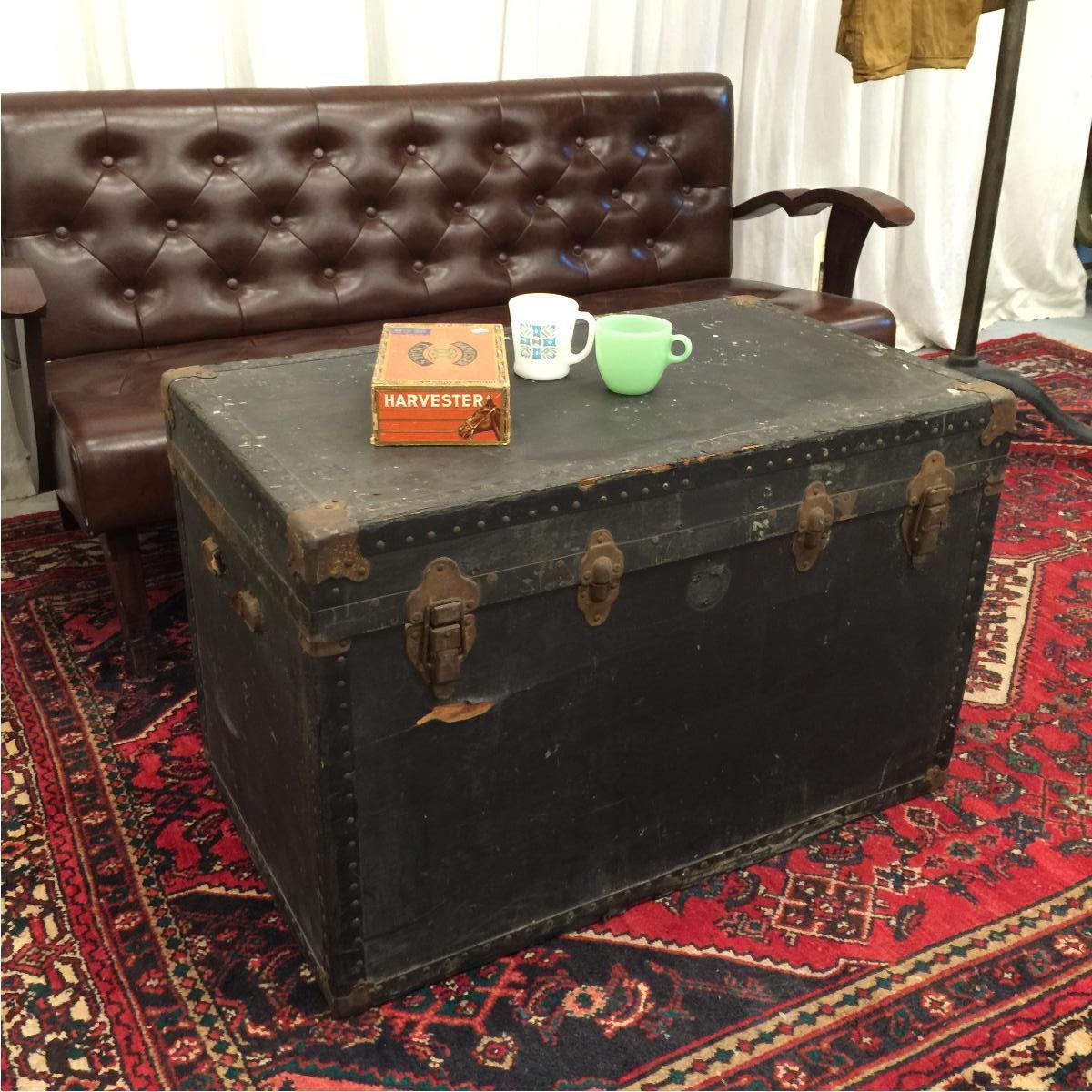 アンティークトランク コーヒーテーブル ヴィンテージ /hom0395 【】 160925 アンティークトランク コーヒーテーブル ヴィンテージ