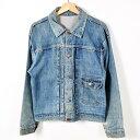 雰囲気系 40年代 ジェイシーペニー FOREMOST 1STタイプ デニムジャケット Gジャン メンズL ヴィンテージ J.C.Penney /wey4940 【中古】…