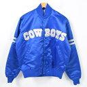 90年代 スターター Starter NFL DALLAS COWBOYS ダラスカウボーイズ スタジャン スタータージャケット メンズM /wak0693 【中古】 【171014】