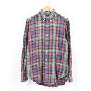ラルフローレン Ralph Lauren 長袖 ボタンダウンチェックシャツ メンズS /waw9193 【181012】【SS1909】