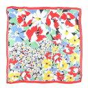 花柄 スカーフ イタリア製 /wbb6595 【中古】 【190518】