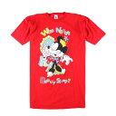 ショッピングミニー MICKEY&CO. MINNIE MOUSE ミニーマウス ビッグサイズ キャラクタープリントTシャツ フリーサイズ /wbf3794 【中古】 【190528】【PD2001】【CS2003】【【SS2003】】