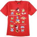 ショッピングミッキー 〜90年代 MICKEY UNLIMITED DISNEY ディズニー キャラクタープリントTシャツ レディースL /eaa024987 【中古】 【200430】