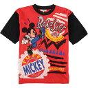 ショッピングタープ DISNEY FASHIONS MICKEY MOUSE ミッキーマウス キャラクタープリントTシャツ レディースL /eaa042345 【中古】 【200524】