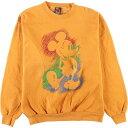 ショッピングミッキー MICKEY UNLIMITED MICKEY MOUSE ミッキーマウス キャラクタースウェットシャツ トレーナー レディースXL /eaa130146 【中古】 【210218】