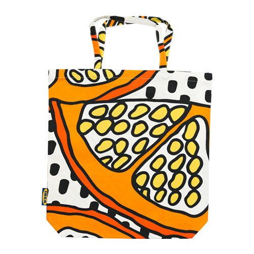 TREBLAD バッグ, オレンジ, ホワイト/ブラック