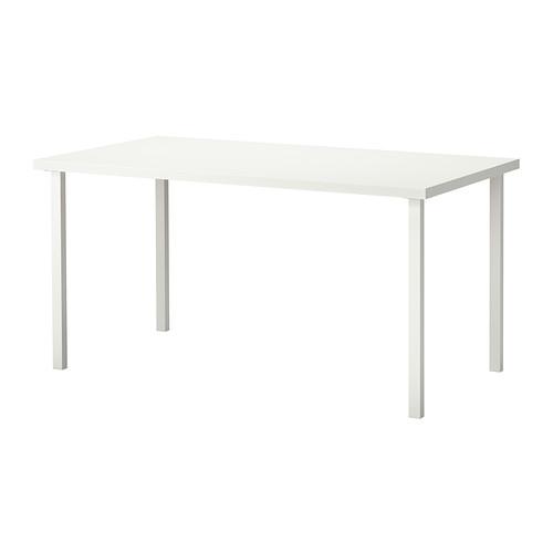 【★IKEA/イケア★】LINNMON / GODVIN テーブル  ホワイト/190.006.94