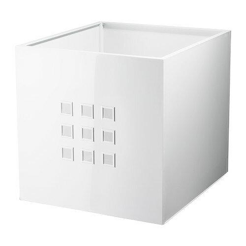 【★IKEA/イケア★】LEKMAN ボックス ホワイト/302.471.37