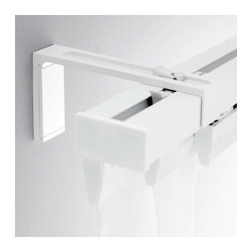 VIDGA 壁用固定具, ホワイト, 12 cm