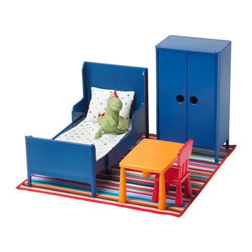 HUSET (フーセット) ミニチュア家具 ベッドルーム