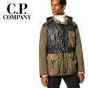 【40%OFF】C.P.COMPANY (シーピーカンパニー) Quartz Contrast Goggle Jacket [メンズ] 07CMOW041A【KAK(661)/46・48・50・52サイズ】カーキ ゴーグル キルティング ジャケット マウンテンパーカー 防水防風加工 CP COMPANY【あす楽】