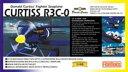 カーチスR3C-0非公然水上戦闘機 (1/48スケールプラスチックモデル組立キット)