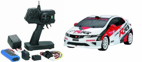 1/10 XBシリーズ No.112 XB Honda シビック TYPE R R3 JAS モータースポーツ (TT-01シャーシ TYPE-E) プロポ付き完成品 57812