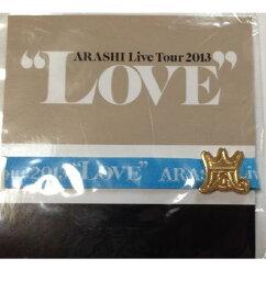 嵐・・【リボンブレス】・・大野智・青☆2013 LOVE TOUR・コンサート会場販売グッズ