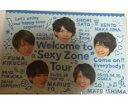 【新品】 SEXY ZONE・【メモ帳】☆ 集合・2016 Welcome to Sexy Zone Tour  ☆最新コンサート会場販売グッズ