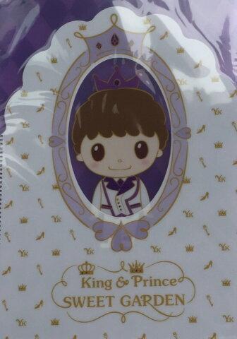 """【新品】King & Prince """"SPECIAL STORE"""" 2018・第二弾・【Wクリアファイル】・岸優太・・ 『King & Prince SWEET GARDEN』 キンプリ・・ 期間限定会場販売グッズ"""
