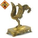 風水・銅製の鳳凰