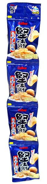 カルビー 堅あげポテト うす塩味 4連 15g【イージャパンモール】