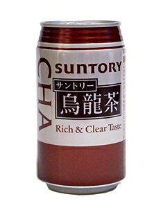 サントリー 烏龍茶 340g缶【イージャパンモール】
