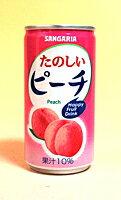 サンガリア たのしいピーチ 190g缶【イージャパンモール】
