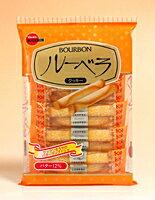 Bourbon布尔本黄油味牛奶鸡蛋香酥蛋卷饼干卷2条*5袋