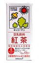 【送料無料】★まとめ買い★ 紀文 紅茶豆乳 1L ×6個【イージャパンモール】