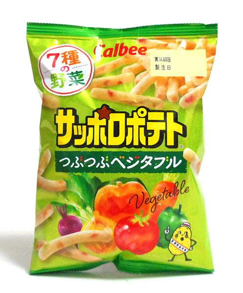 カルビー(株) サッポロポテト つぶつぶベジタブル 24g【イージャパンモール】