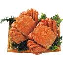 【送料無料】北海道産ボイル毛蟹2尾(計660g)【代引不可】【ギフト館】