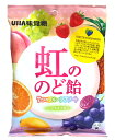 ★まとめ買い★ UHA味覚糖 虹ののど飴 125g ×6個【イージャパンモール】