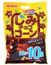★まとめ買い★ ギンビス しみチョココーン大袋 220g ×10個【イージャパンモール】