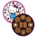 甜點 - 【送料無料】ハローキティ ココアクッキー缶 32796【代引不可】【ギフト館】