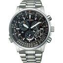 ショッピング電波時計 【送料無料】シチズン プロマスター メンズ電波腕時計 ブラック BY0080−57E【代引不可】【ギフト館】