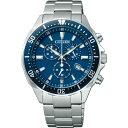 ショッピングシチズン 【送料無料】シチズン メンズ腕時計 ブルー VO10−6772F【代引不可】【ギフト館】