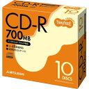 樂天商城 - 三菱ケミカル データ用CD?R 700MB 48倍速 ホワイトプリンタブル 5mmスリムケース 1パック(10枚)