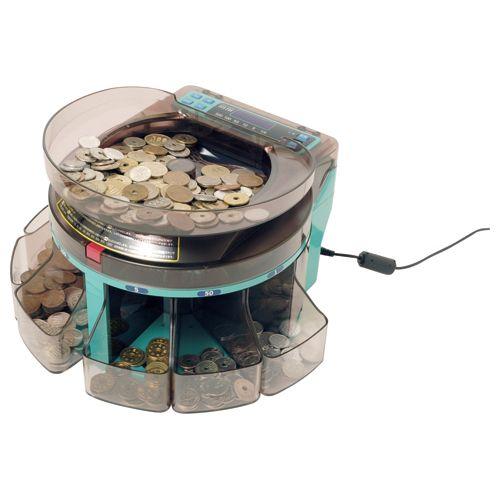 エンゲルス コインソーター 電動小型硬貨選別機