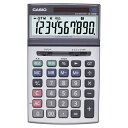 カシオ 本格実務電卓 10桁 ジャストサイズ 1台