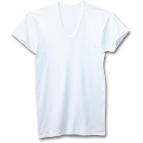 グンゼ 紳士用肌着 半袖U首シャツ L 1パック(2枚)