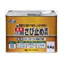 【送料無料】ニッペ ホームペイント トタン専用さび止め塗料 6.4kg  グレー・182358【生活雑貨館】
