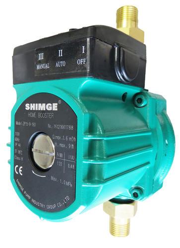 給湯・給水加圧ポンプ(ZP15-9-160)流量スイッチ式/最大出力120W/単相110V