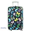 LOQI luggage cover ローキー ラッゲージカバー Lサイズ butterflies